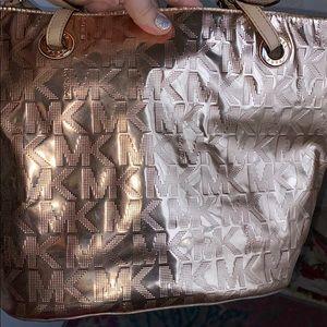 Michael Kors bag and clutch